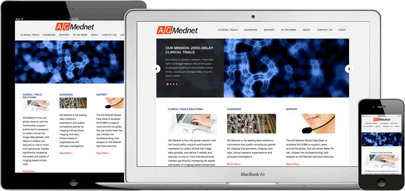 AG Mednet web site