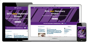 Jazz Diplomacy Web Site