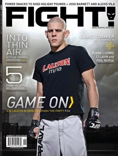 Joe Lauzon Fight Magazine Cover